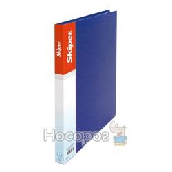 Папка усы А5 Skiper SK-12 синяя 411041