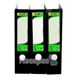 Сегрегатор 4Office 4-247 А4, 5 см, черный (03070449)