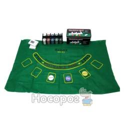 Игра Покер W02-589 в метал. коробке