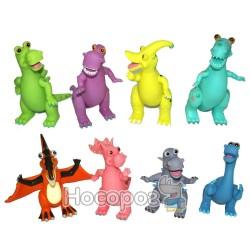 Динозавр Гонконг 2814 резиновий