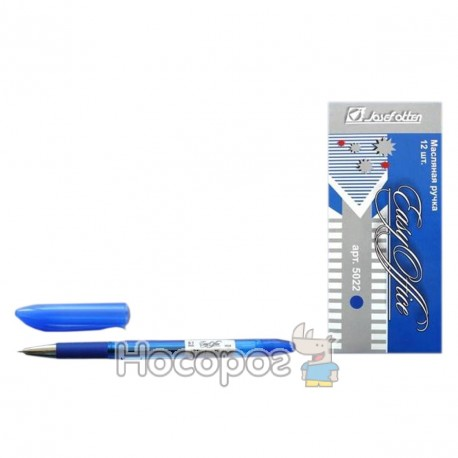 Ручка Easy Office 5022 масло синяя
