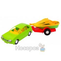Авто-купе 39002 з причепом