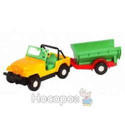 Авто-джип 39007 с прицепом