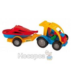 Авто-багги 39227 с прицепом