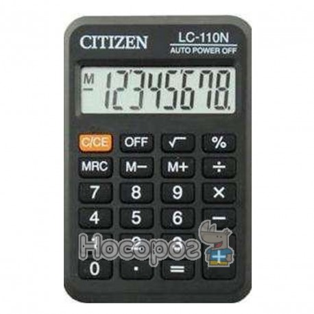 Фото Калькулятор CITIZEN LC-110N