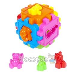 Куб-сортер с животными 50-102
