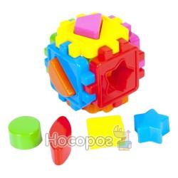 Куб-сортер з геометричними фігурами 50-101