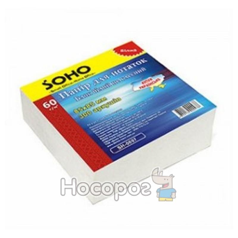 Фото Бумага для заметок SOHO белый блок SH-1211 (85 * 85/300)