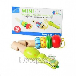 Деревянная игрушка Свисток MD 0678 2 вида