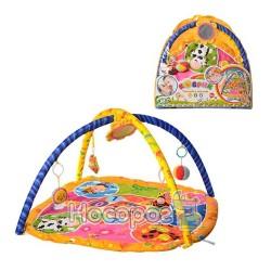 Коврик для малышей 898-211B животные-цифр, квадрат (85-85см)