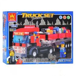 Конструктор 37103 трейлер