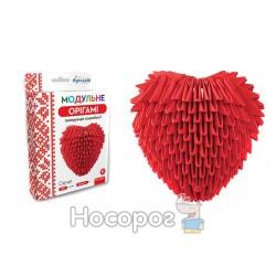 """Модульне орігамі 283 модуля """"Серце"""" ОМ-6090"""