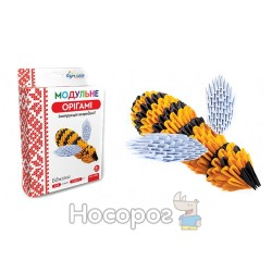 """Модульне орігамі 430 модулів """"Бджілка"""" ОМ-6085"""