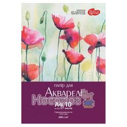 """Папка для акварелі """"ROSA"""" А4 10арк серія «Квіти»"""