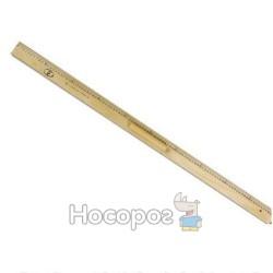 Лінійка дерев'яна шовкографія 1м з ручкою 132115