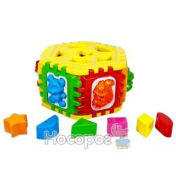 Сортер-шестигранник с геометрическими фигурами Kinderway 50-003