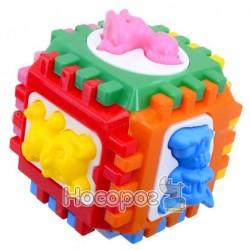 Логический куб-сортер с вкладышами Kinderway 50-001