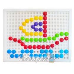 Мозаика с круглыми фишками 60 эл. Kinderway 30-015