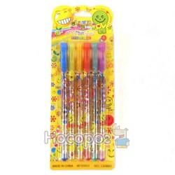 Ручки в наборе 6 цветов 12386-6