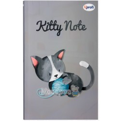 "Блокнот Profiplan ""Kitty note"" grey, А5"