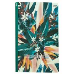 "Блокнот TM Profiplan ""Abstract flower"" blue"