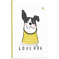 "Блокнот TM Profiplan ""Dog"" yellow"