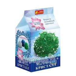 """Набір для дослідів """"Магічний кристал. Зелений"""" 12138014Р"""