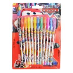 Ручки в наборе 12 цветов, гель 023-12