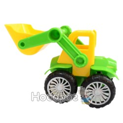 Трактор 675 инертный, подвижный ковш, 2 цвета
