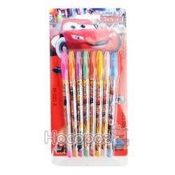 Ручки в наборе 8 цветов, гель 023-8