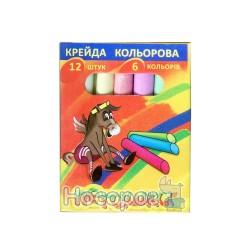 Крейда Кольорова Пегашка 6 кол.