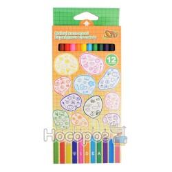 Карандаши цветные OLLI OL 103-12 IDEA