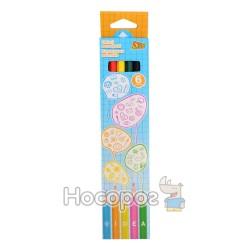 Карандаши цветные OLLI OL 103-6 IDEA