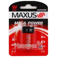 Батарейки MAXUS 9V 6LR61 крона