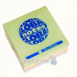 Бумага с липким слоем Глобал pastel mix