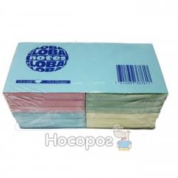 Бумага с липким слоем Глобал Rainbow 3654-98-pk1-b