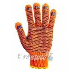 Рукавицы ХБ оранжевые
