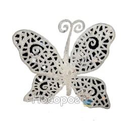Штучний метелик CCU 1203-004 SILVER