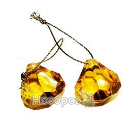 Набор из 20 подвесок-капель, желтых HZ36-TK499G / 25