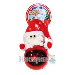 Подвеска шар + мягкая игрушка Дед Мороз, красная GD8C089A