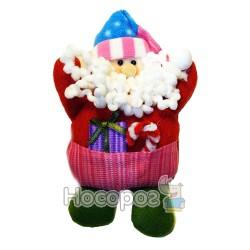 Подвеска-Санта Клаус из ткани 271245A-B