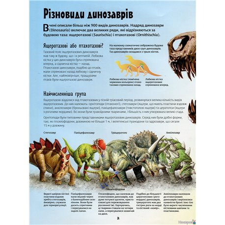 Фото Атлас динозаврів