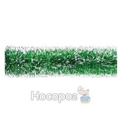 Гир.75 (зеленый металл. с белыми конч.) 2м