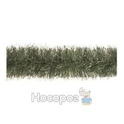 Гир.50 (зеленая матовая с серебр.конч.)2м