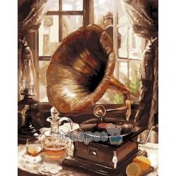Картина по номерам Старый граммофон AS0202