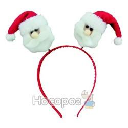 Обруч Дед Мороз, Снеговик, в ящ микс
