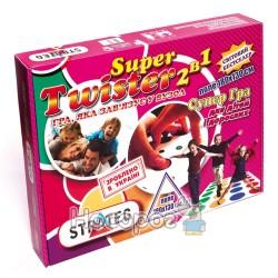 Игра Стратег 386 Твистер Super 2 в 1