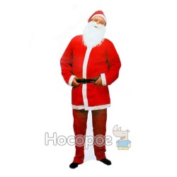 Костюм Санта Клауса взрослый JAX6005