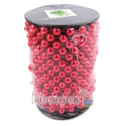 Бусы пластиковые AR1 / 33-10R-R на бобине, красные