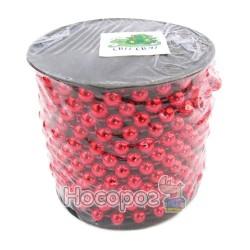 Бусы пластиковые AR1 / 33-5R на бобине, красные